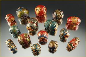 Easy And Elegant Polymer Clay Beads Barbara Briggs Designs