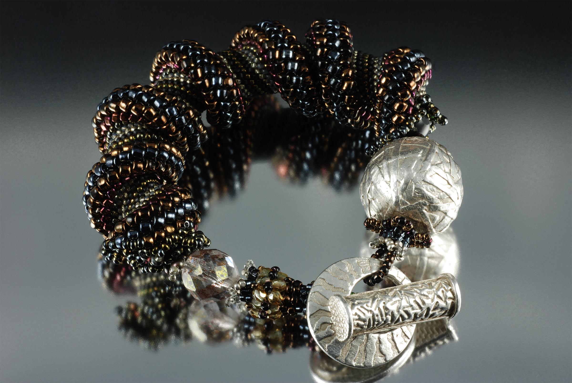 Spiral Cube Bracelet - Sova-Enterprises.com