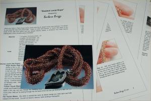 Beaded Lariat Rope - Pattern - Etsy copy