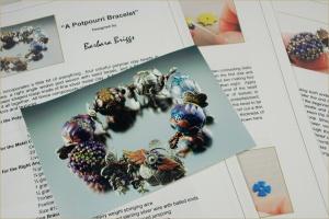 Polymer Clay - Potpourri Bracelet Pattern - Etsy copy