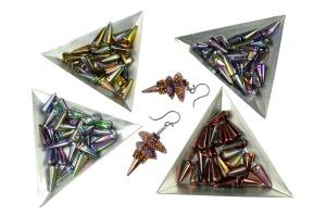 SpikeBeads_7mmx17mm_TriangularDropVariation