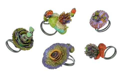 PolymerClay_NatureScapeRings_