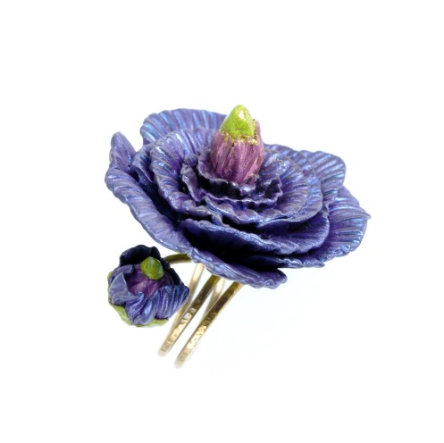 PolymerClay_FortunyViolet_Ring