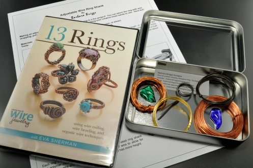 Wire Worked Rings Kit