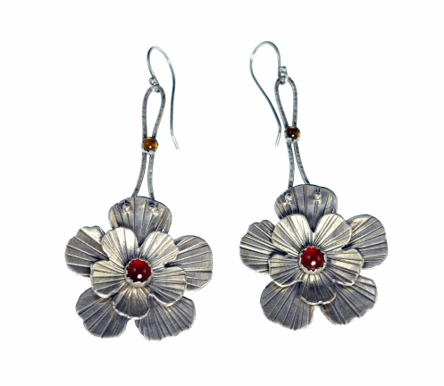 Metal Work - Spanish Rose - Earrings
