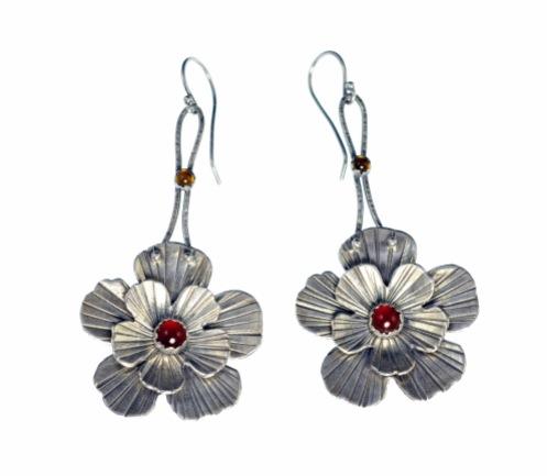 Metal Work - Spanish Rose - Earrings