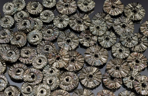 Metal Clay - Flower Disks And Ammonites