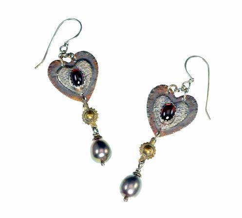 Metal Work - Earrings - Mary Queen of Scots