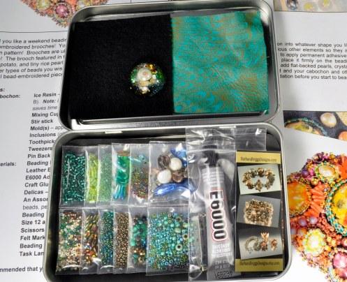 Sea Garden - Beading Kit 3 Closeup