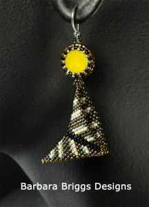 geometric-warped-square-striped-drop-earrings-signed