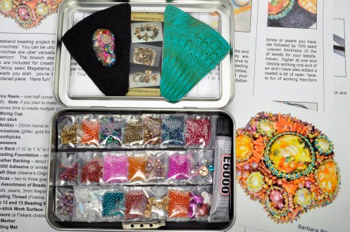 sea-garden-free-form-bead-embroidery-brooch-kit-12-tropical-tones-kit