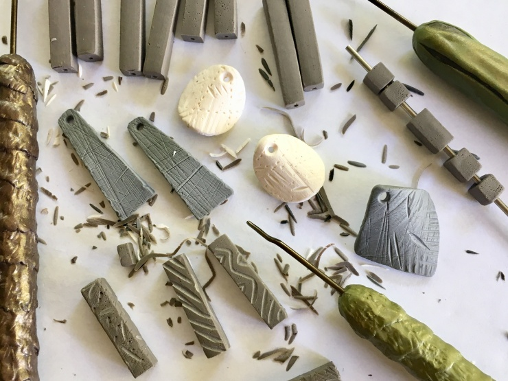 Carving Clay Components