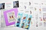 Big Top Earrings – Fuchsia-Teal-Purple Kit