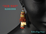 Big Top Earrings – Red-Yellow-Blue –Etsy